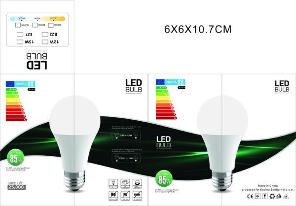 LED žarnica 15W